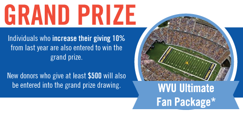 Give and Win Sweepstakes | United Way of Monongalia and Preston Counties