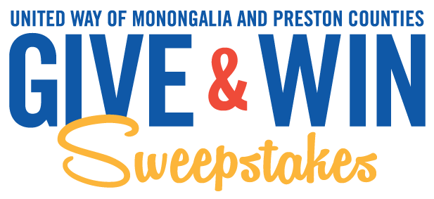 Give and Win Sweepstakes   United Way of Monongalia and Preston Counties